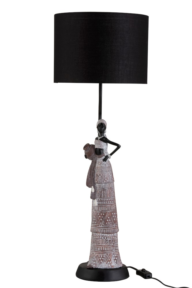 Lamp Afrikaanse Vrouw  1