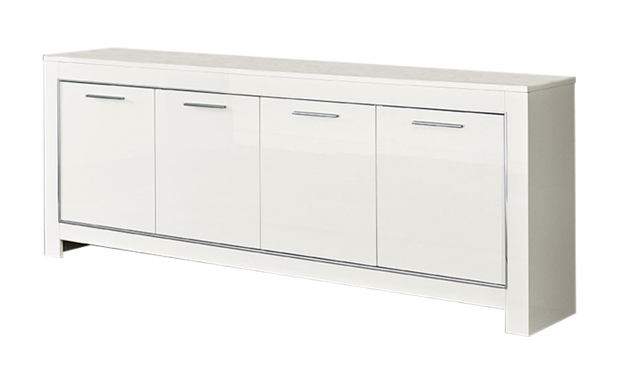 Complete woonkamer Modena - Wit 6