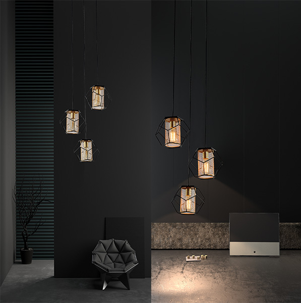 Hanglamp Blanche multi 4