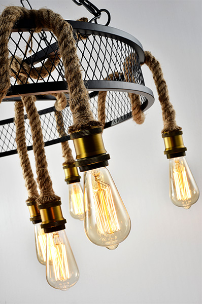 Grote hanglamp Cleo 3