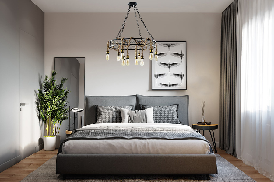 Grote hanglamp Cleo 4