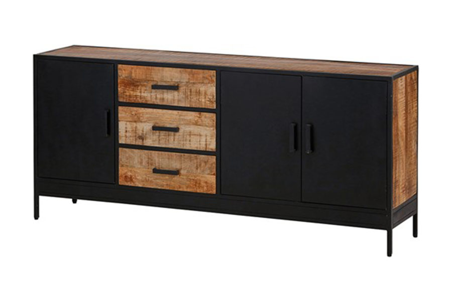 Industrieel dressoir Kirby 1