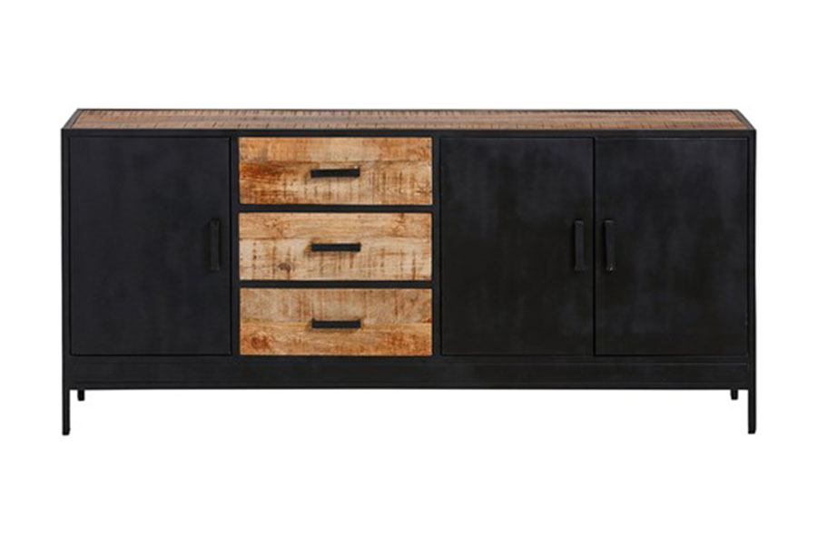Industrieel dressoir Kirby 3