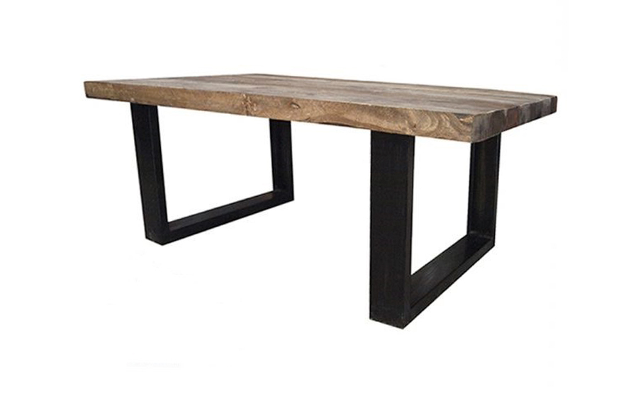 Salontafel gerecycled hout 1