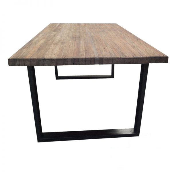 Eettafel gerecycled hout  2